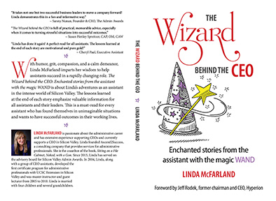 The Wizard behind the CEO: Enchanted stories from the assistant with the magic WAND