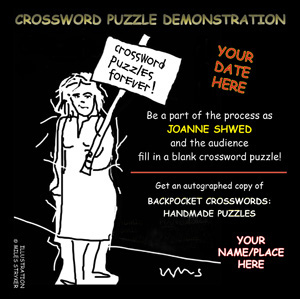 Crossword puzzle demonstration